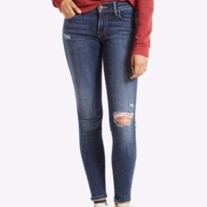 Authentic Levi 710 Super Skinny Jeans